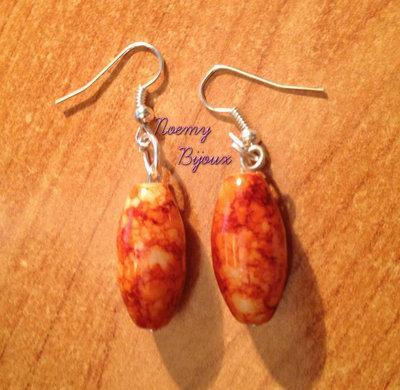 orecchini in ceramica