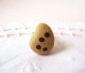 Anello con biscotto gocciola