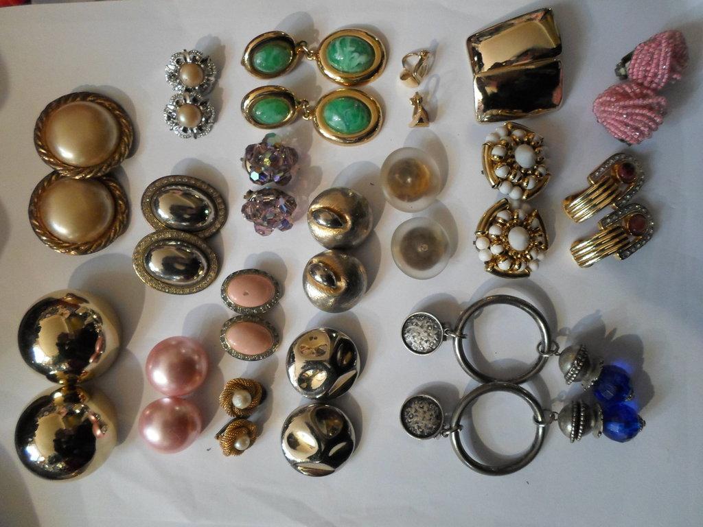 orecchini anni 60,70 8o