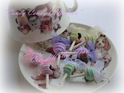 "Orecchini Cake Pops ""Candy Candy"""