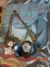 Collana Orologio Boccino d'Oro Harry Potter