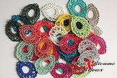Orecchini lotto Basi17 paia colori moda 2014 assortiti by Arte ricamo & Bijoux