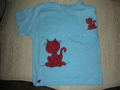 maglietta gatto