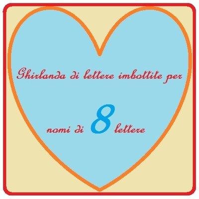 Ghirlanda di 8 lettere di stoffa imbottite: la decorazione che personalizza la camera del vostro bambino!