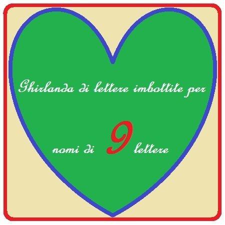 Ghirlanda per nomi di 9 lettere: la decorazioni con lettere imbottite per personalizzare la cameretta del tuo bambino!