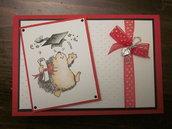 card handmade laurea