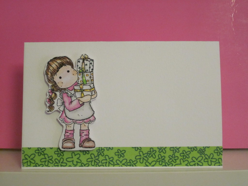 card handmade compleanno