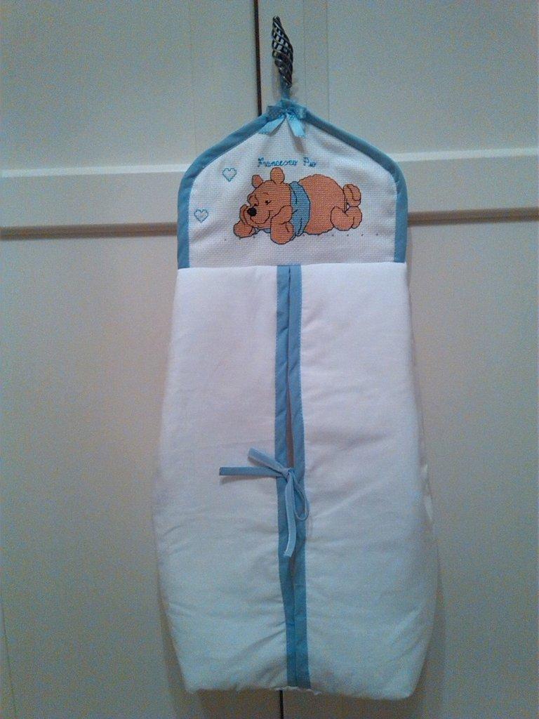 Sacca porta pannolini bambini accessori beb di - Porta pannolini ...