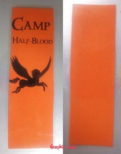Segnalibro Personalizzato Percy Jackson Half-blood camp