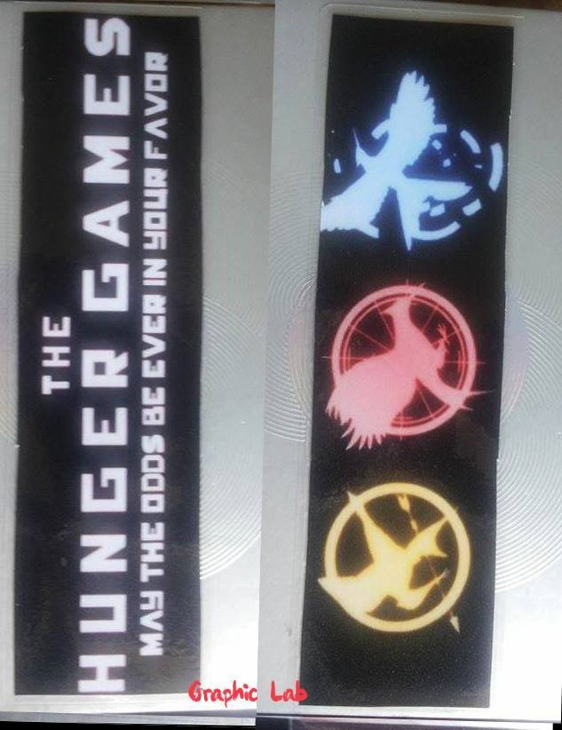 Segnalibro Personalizzato Saga Hunger Games