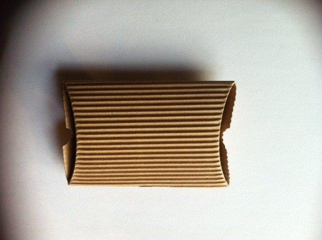 Scatolina in cartone ondulato