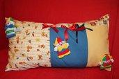 Cuscino per bambino con pupazzi pagliaccio