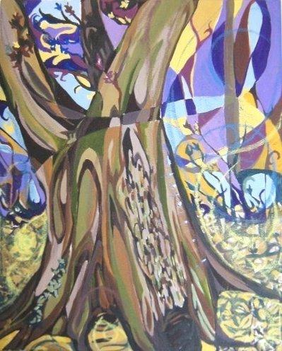 Grande albero di nocciole-EUGENIA GIORDANO