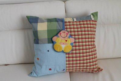 cuscino per bambino con sonaglino