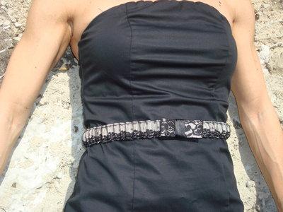 Cintura elastica in pizzo color avorio