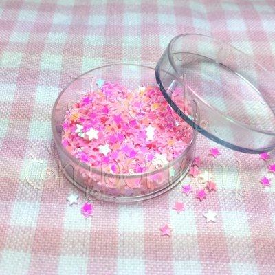 Paillettes Stellina rosa - 2 gr