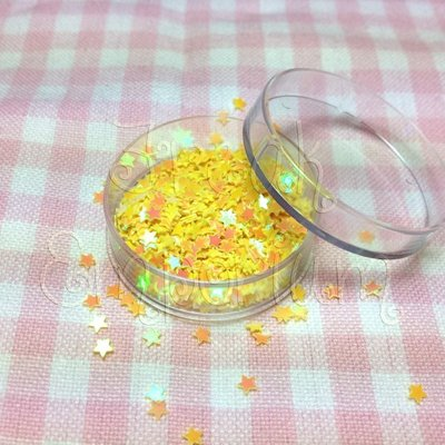 Paillettes Stellina gialle - 2 gr