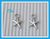 8 charms stella marina 17x14mm