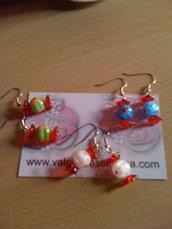 orecchini carameline