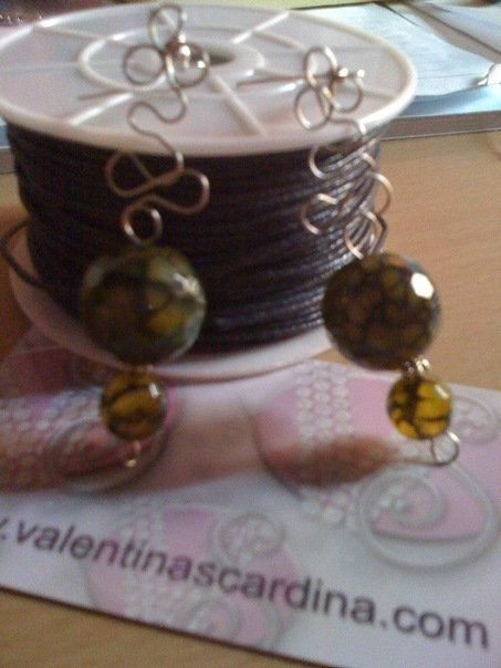 pendenti perle di giada