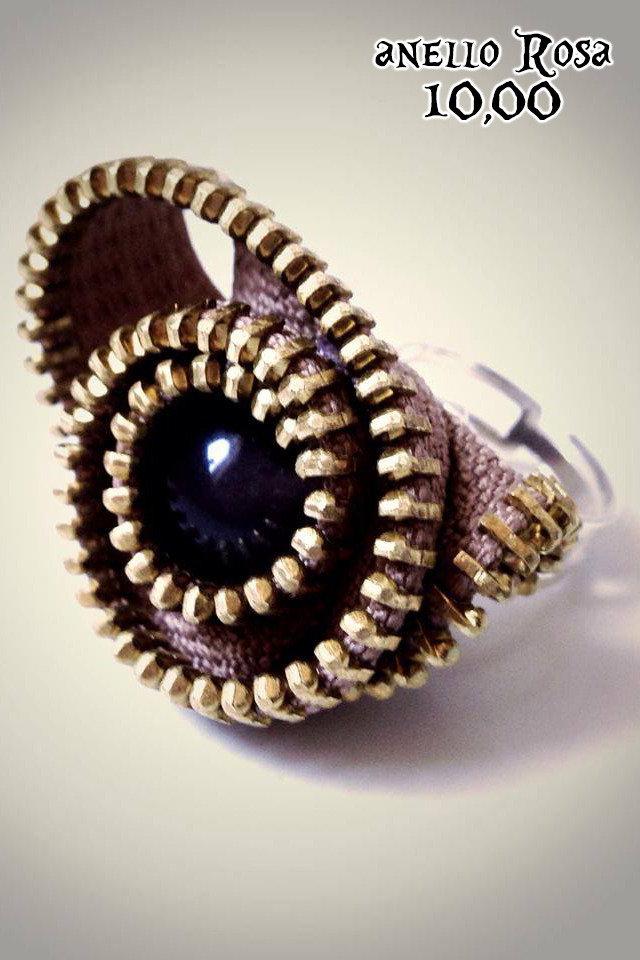 anello ROSA in cerniera