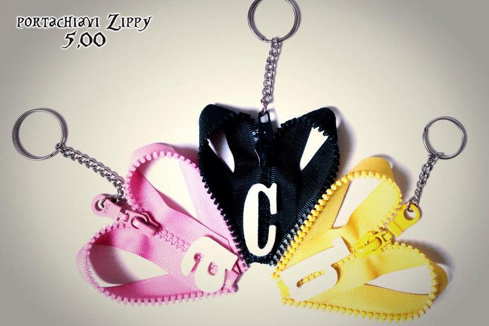 portachiavi ZIPPY con lettere