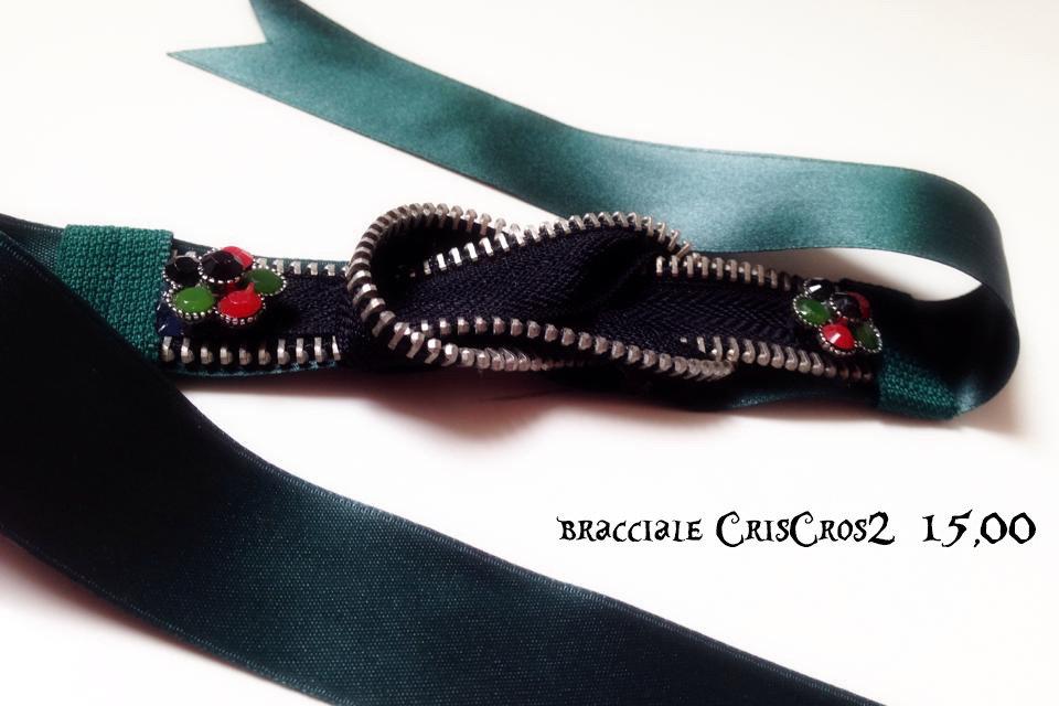 bracciale CRISCROS2 in cerniera