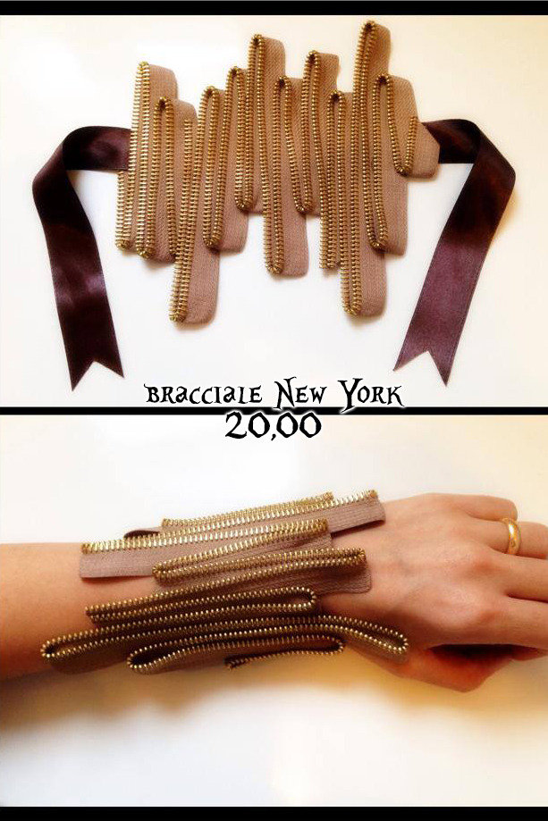 bracciale NEW YORK in cerniera