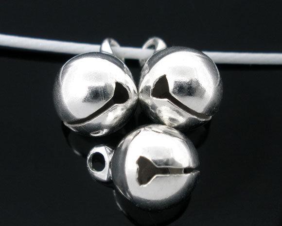 10x campanellini silver plated