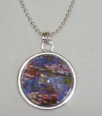 Collana Arte Monet, Cammeo in Vetro