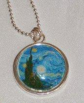 Collana Arte Van Gogh, Cammeo in Vetro