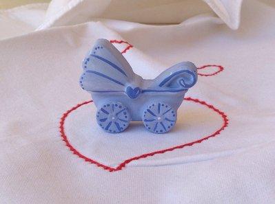 Gessetto carrozzina azzurro