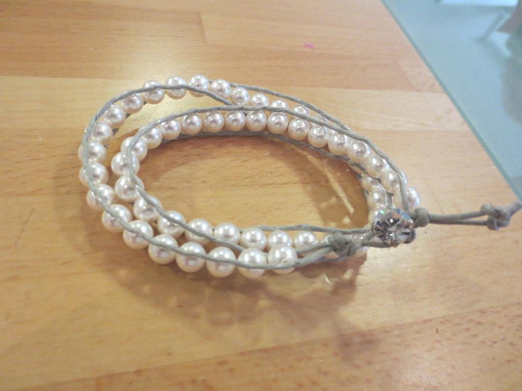 chan luu con perle