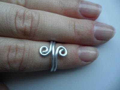 Anello a metà dito Argento