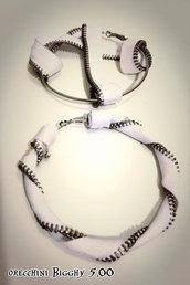 orecchini XL in cerniera