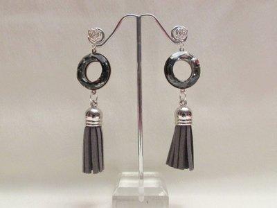 """""""Cosmic Rings 2"""" - Orecchini lunghi in cristallo Swarovski"""