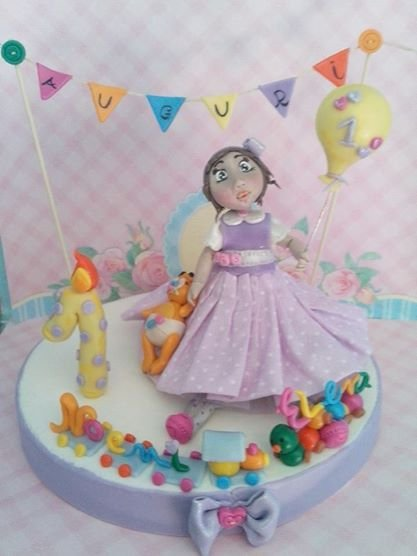 Topper cake compleanno personalizzabile