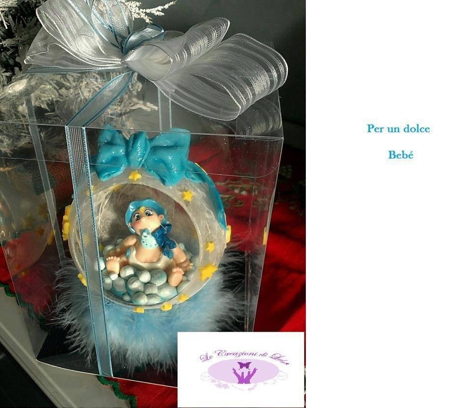 Topper cake battesimo personalizzabile