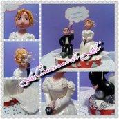 TOPPER CAKE MATRIMONIO