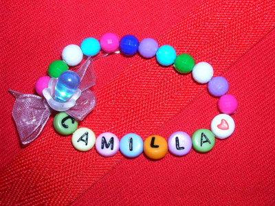 """Bracciale con nome """"CAMILLA"""""""