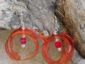 orecchini circolari pet