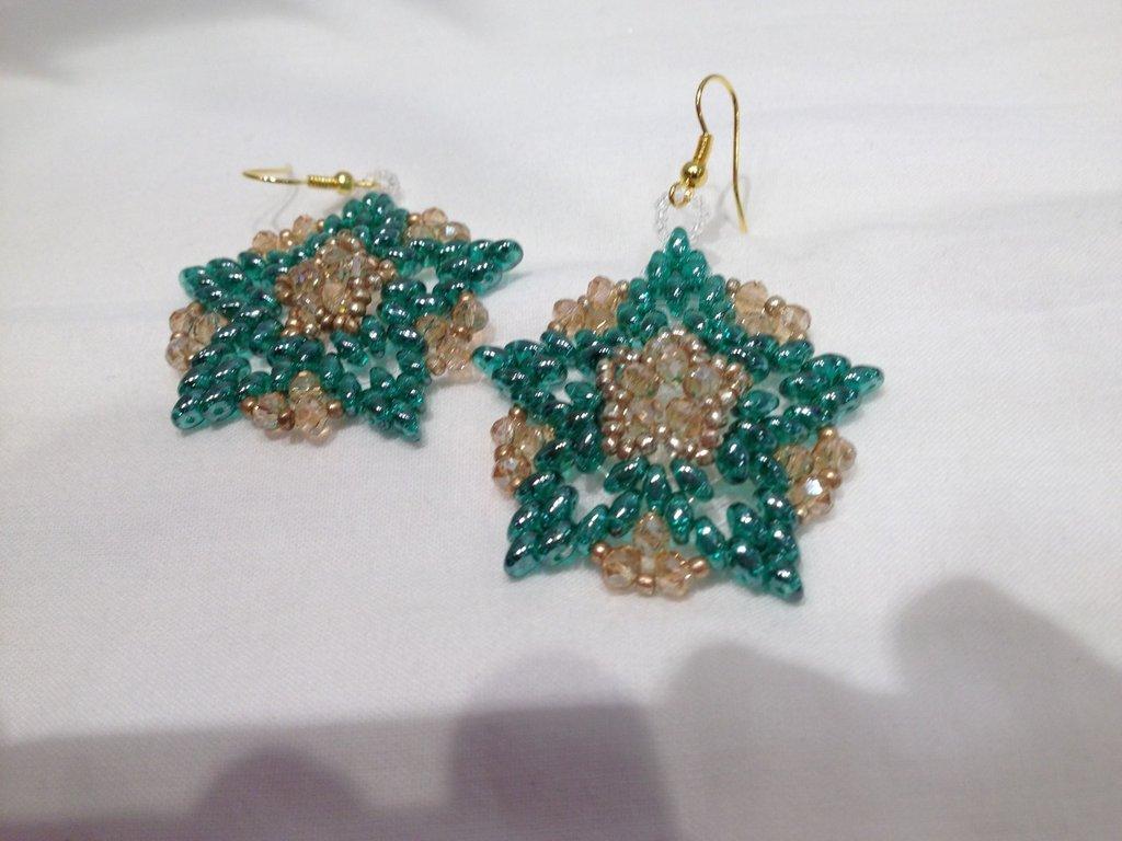 Orecchini Magic Emerald
