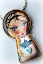 "Collana ""Alice in wonderland"" *"