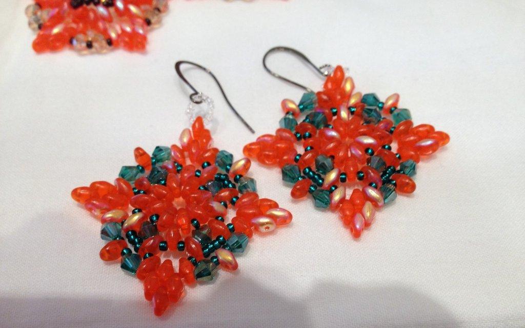 Orecchini Candy Orange