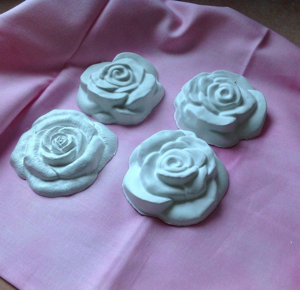 Gessetti grandi a forma di rosa