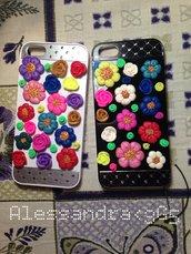 cover per smartphone- fiori