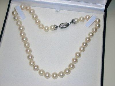 girocollo di perle coltivate d'acqua dolce