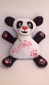 Panda personalizzato - peluche pupazzo panda