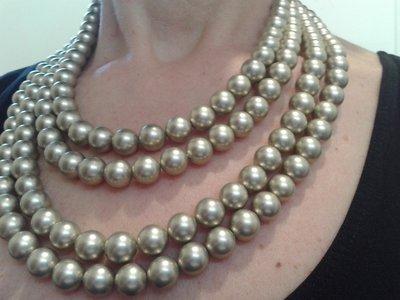 collana multifilo perle shell