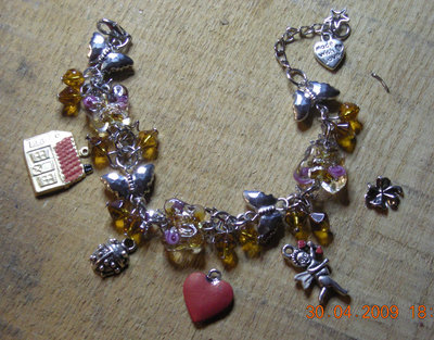 lucky bracelet with house charms